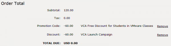 VCA Exam for free