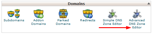 cPanel CNAME advanced