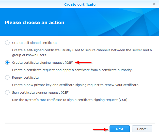 Secure your Synology NAS, install a SSL certificate - Mike Tabor