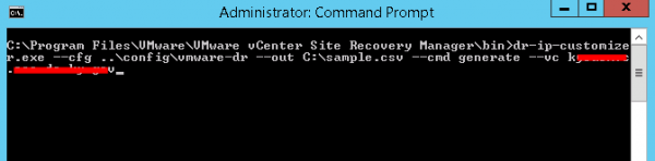 generate csv file