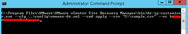 import csv dr ip customizer