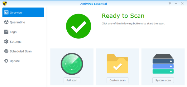 Synology Antivirus Essentials