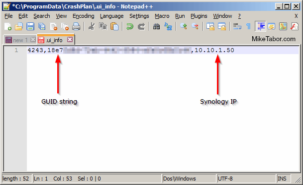 crashplan ui_info file