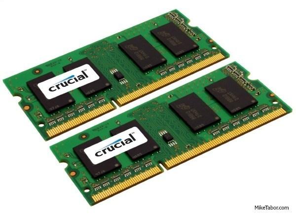 crucial 16gb 204pin memory