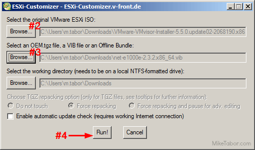 esxi customizer intel nuc nic driver