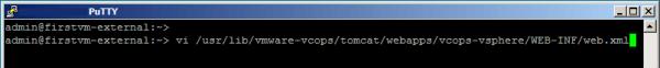 vi webex file