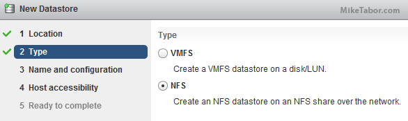 How to setup NFS on Synology NAS for VMware ESXi lab - Mike