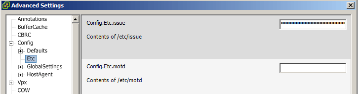 ssh message thickclient
