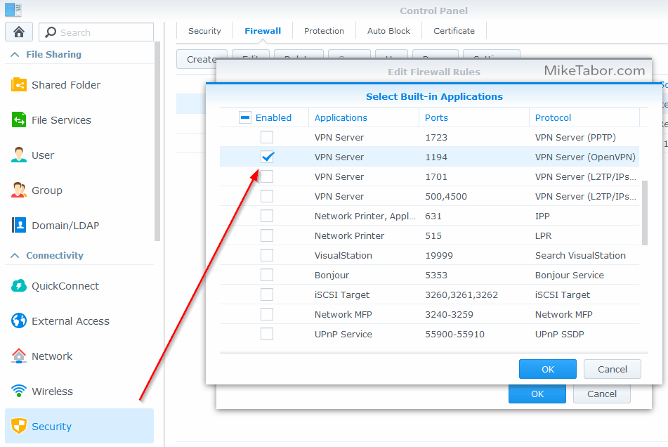Linksys single port forwarding setup