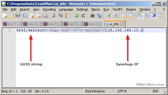 How to run Crashplan in Docker on Synology NAS - Mike Tabor