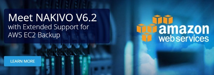 nakivo v6.2 released