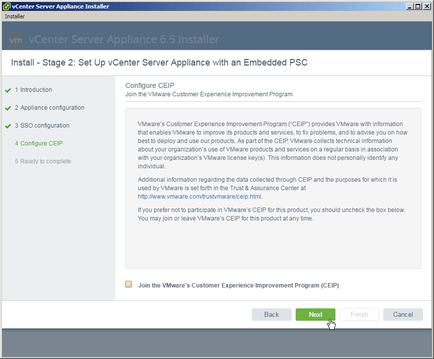 Upgrade vCenter Server Appliance 6 0 to 6 5 - Mike Tabor
