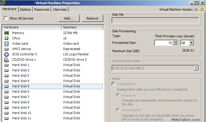 VCSA /storage/log expand vmdk