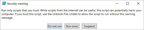 powershell blocked file