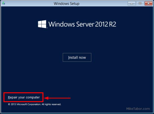 select repair computer