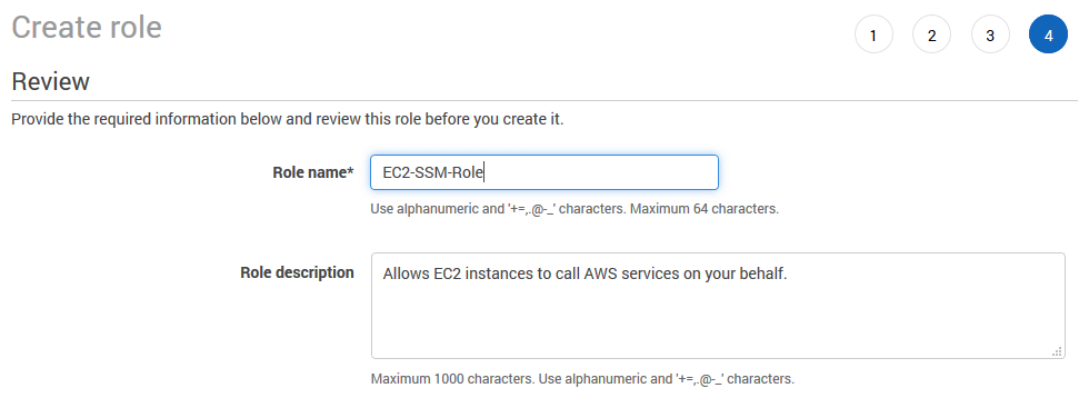 aws iam create role