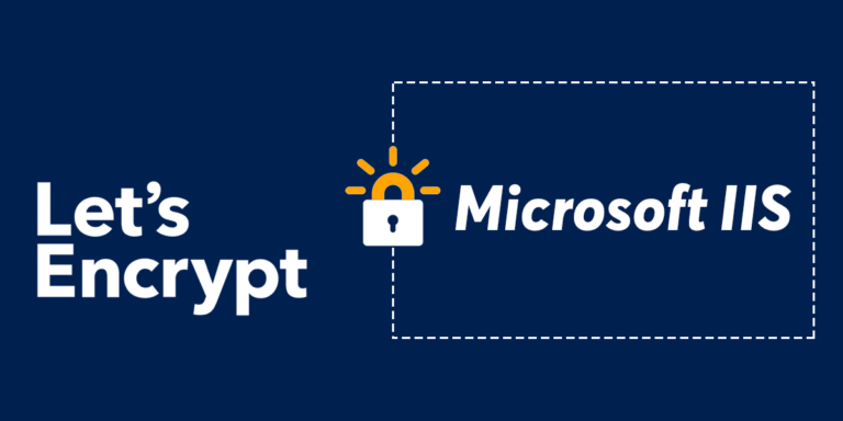 How to install a Let's Encrypt SSL cert on Microsoft IIS