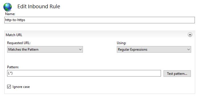 rule name
